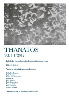 Thanatos vol 1 no 1 2012