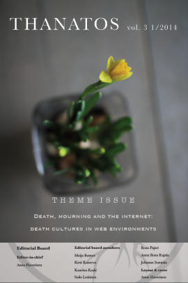 death, mourning and internet