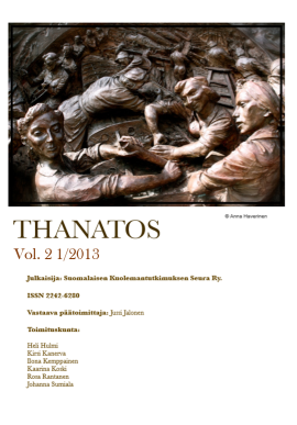 Thanatos vol 2 1 2013